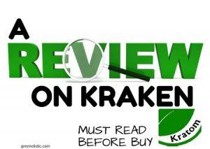 A Review On Kraken Kratom – Must Read Before Buy?