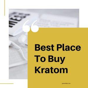 Best Place To Buy Kratom