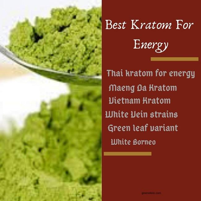 Best Kratom For Energy