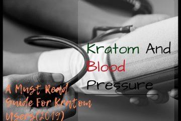 Kratom And Blood Pressure