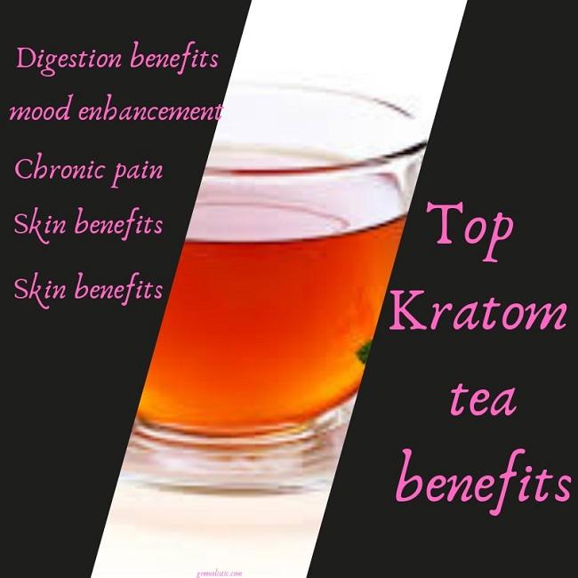 Top Kratom tea benefits