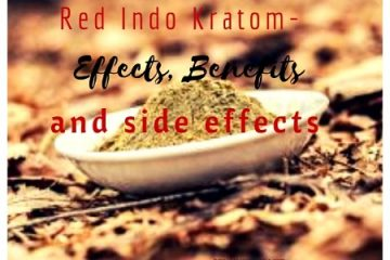 Red Indo Kratom-Effects, Benefits and side effects